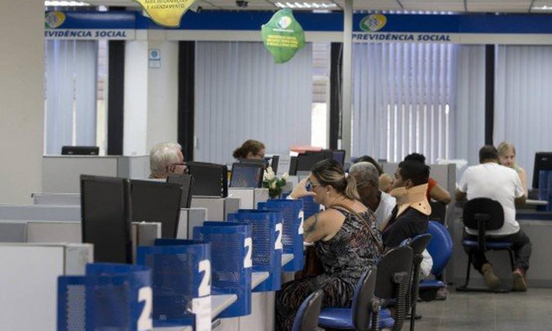 Agência do INSS: inconsistências na perícia médica. Foto: Agência O Globo