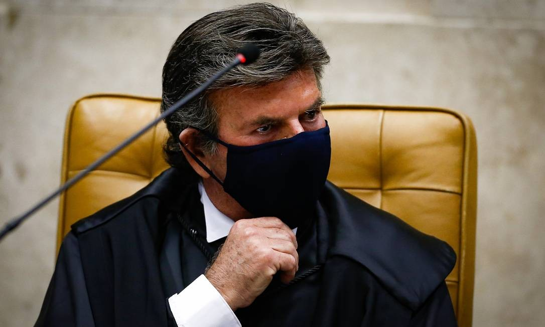 O presidente do STF e do CNJ, ministro Luiz Fux Foto: Pablo Jacob / Agência O Globo