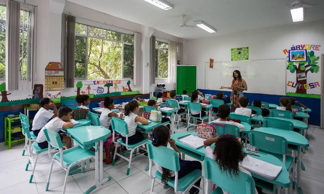 Ideb é o principal índice da educação básica Foto: Emily Almeida / Agência O Globo