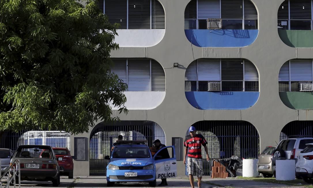 Colégio municipal do Rio de Janeiro Foto: Marcelo Theobald / Agência O Globo