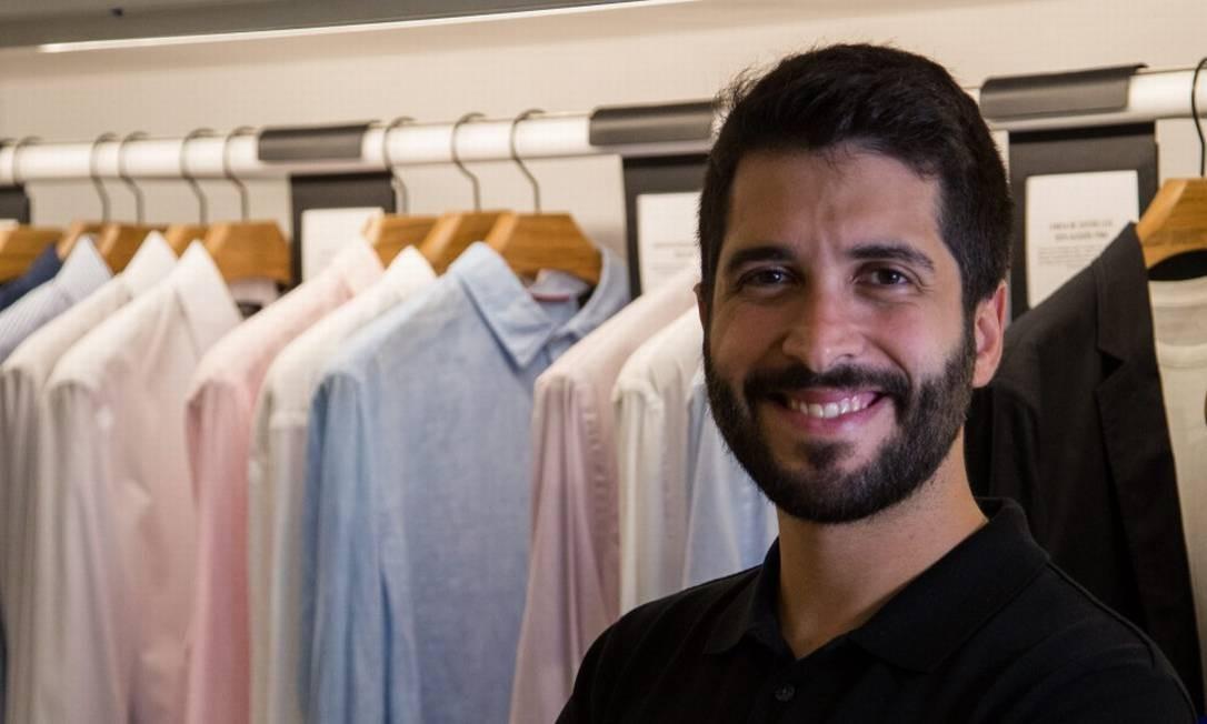 Felipe Siqueira Foto: Emily Almeida/Agência O Globo