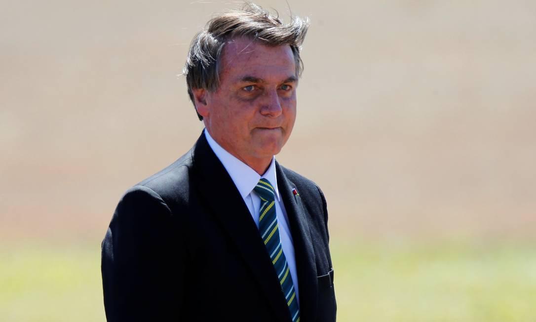 O presidente Jair Bolsonaro recorreu no STF para depor por escrito Foto: ADRIANO MACHADO / Reuters/07-07-2020