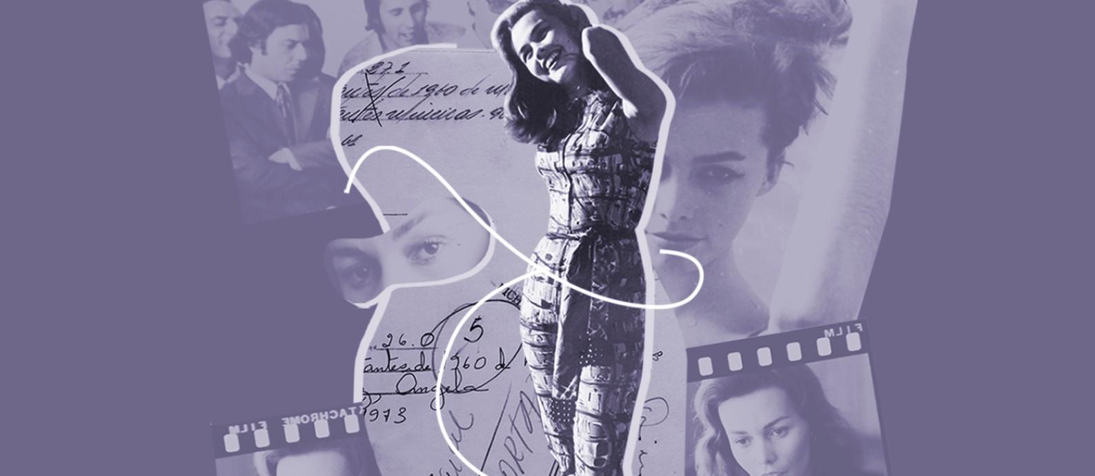 'Praia dos Ossos' conta a história de Ângela Diniz, morta após tentar romper um relacionamento amoroso em 1976, num crime que hoje seria classificado como feminicídio Foto: Divulgação/Rádio Novelo