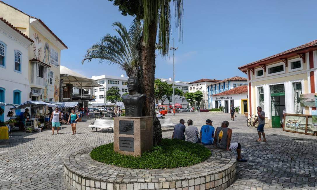 Angra dos Reis, que faz parte da região da Baía da Ilha Grande, é uma das cidades com bandeira laranja Foto: Lucíola Villela 29-03-2020 / Agência O Globo