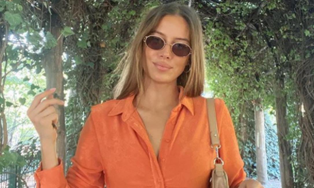 Nicole Poturalski, namorada de Brad Pitt Foto: Instagram