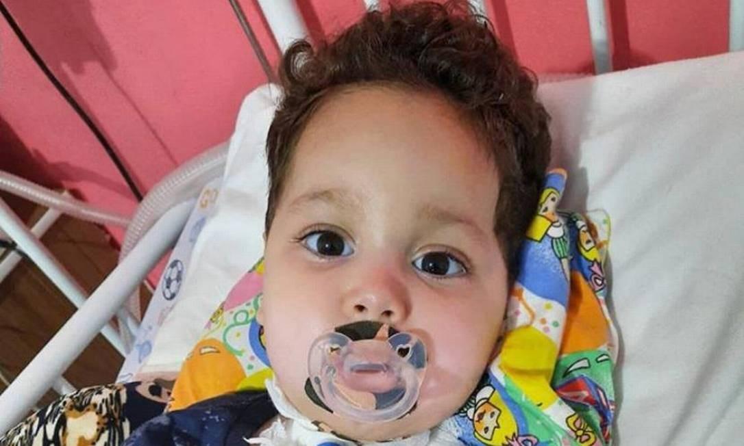 O bebê Arthur Belo, de 1 ano e 10 meses, sofre de Atrofia Muscular Espinhal (AME) Foto: Arquivo pessoal