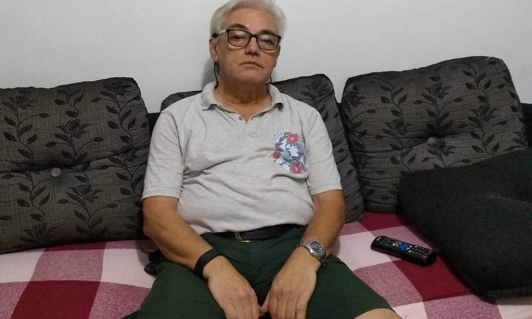 O comerciante português João Batista Ribeiro, de 67 anos, morava no Brasil há 40 anos Foto: Arquivo Pessoal