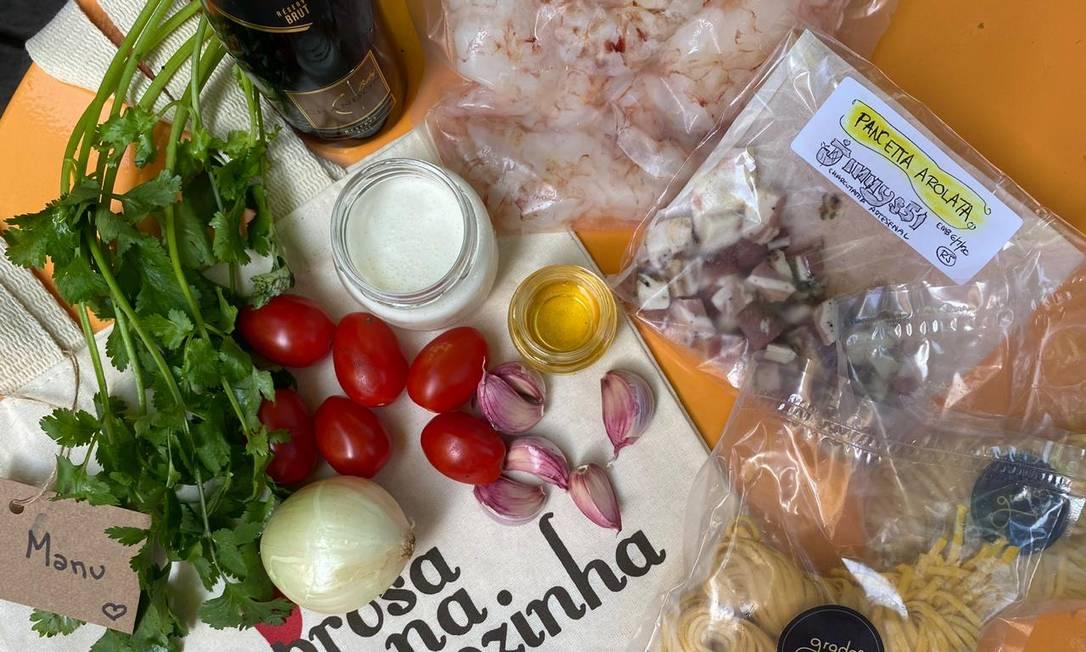 Prosa na Cozinha: menu completo, para dois Foto: Divulgação