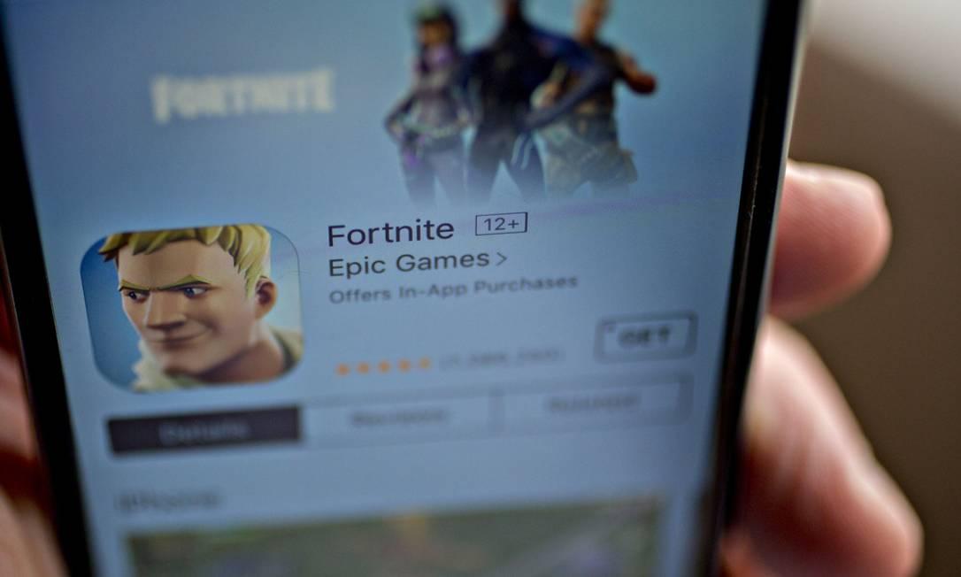 Apple quer retirar aplicativo Fortnite de sua loja de aplicativos Foto: Andrew Harrer / Bloomberg