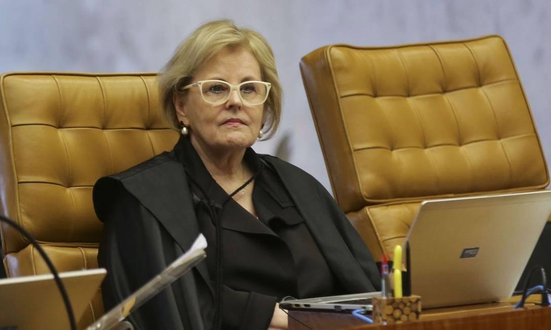 Ministra Rosa Weber Foto: Antônio Cruz / Agência Brasil