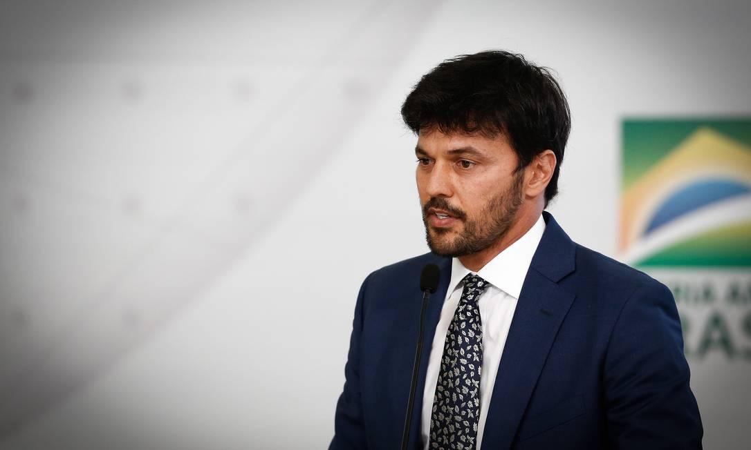 O ministro das Comunicações, Fábio Faria Foto: Pablo Jacob / Agência O Globo