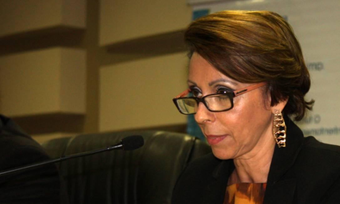 A corregedora-geral do Ministério Público Federal, Elizeta de Paiva Ramos Foto: Divulgação PGR