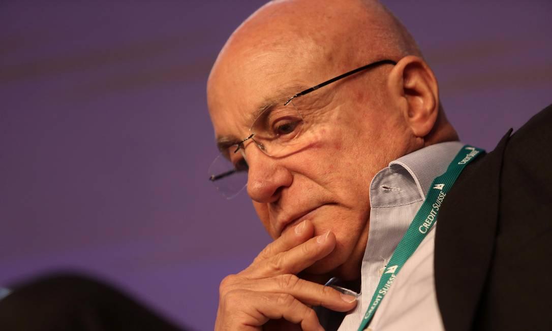Sem conseguir tirar do papel várias privatizações, Salim Mattar pediu demissão do cargo de secretário de Desestatização do Ministério da Economia em agosto de 2020 Foto: Amanda Perobelli / Reuters
