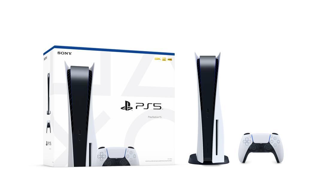 O PlayStation 5 chega às lojas no dia 19 de novembro Foto: Divulgação