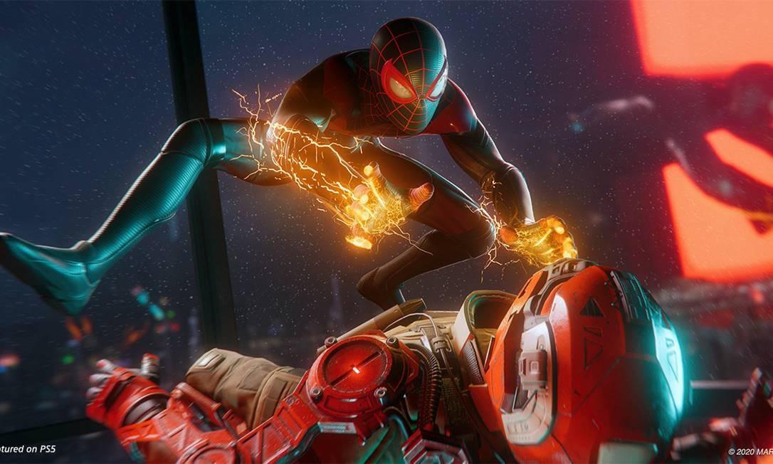 Empresa fez anúncio de novos jogos do console, como Spider-Man: Miles Morales, Final Fantasy XVI, Hogwarts Legacy e Demon's Souls Foto: Divulgação
