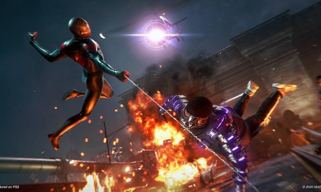 Gráficos de Spider-Man: Miles Morales Foto: Divulgação