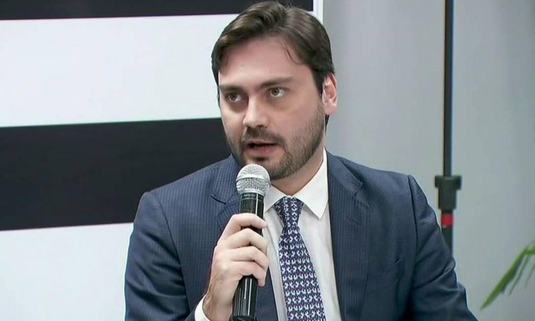 Filipe Sabará foi candidato à prefeitura de São Paulo mas Justiça invalidou candidatura após expulsão do Novo Foto: Reprodução/TV GLOBO