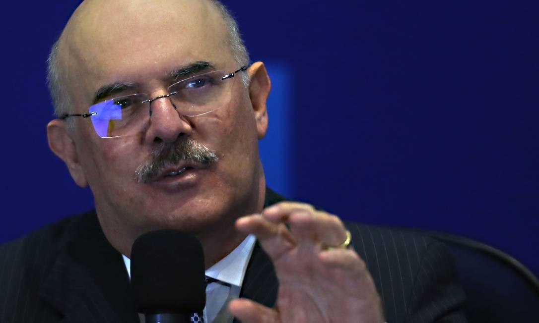 O ministro da Educação, Milton Ribeiro Foto: Jorge William / Agência O Globo