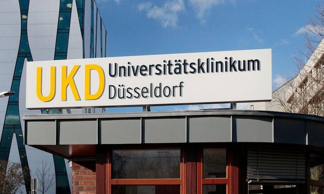 O hospital ligado à Universidade Düsseldorf, na Alemanha, ficou uma semana com seus sistemas fora do ar Foto: Divulgação