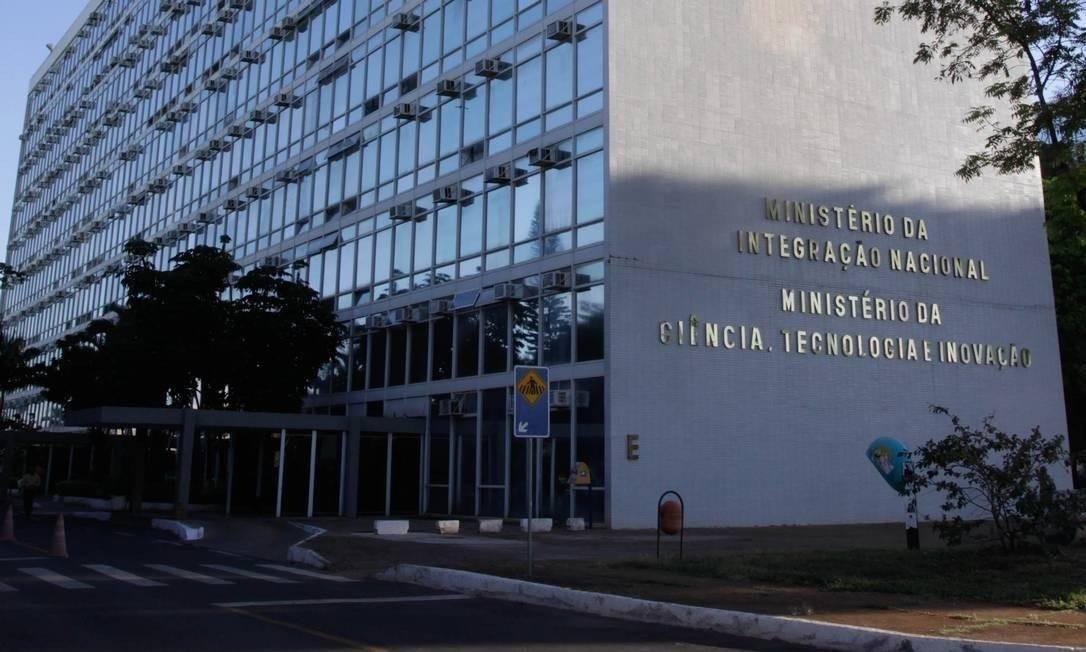Fachada do Ministério da Ciência, Tecnologia e Inovação em Brasília Foto: Divulgação