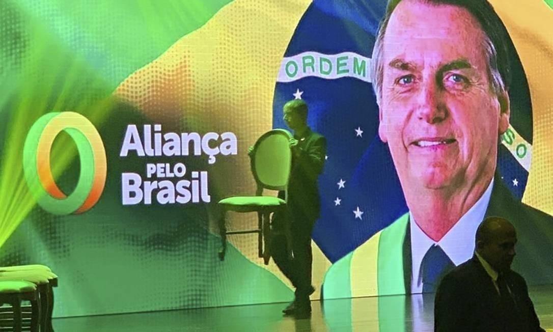 Aliança pelo Brasil, partido que Jair Bolsonaro tenta criar Foto: Reprodução