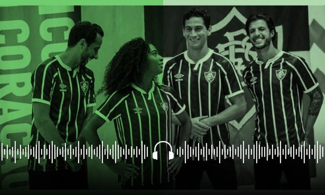 30 minutos de Fluminense: O Tricolor nunca teve uniforme feio. Será? Foto: Editoria de Arte