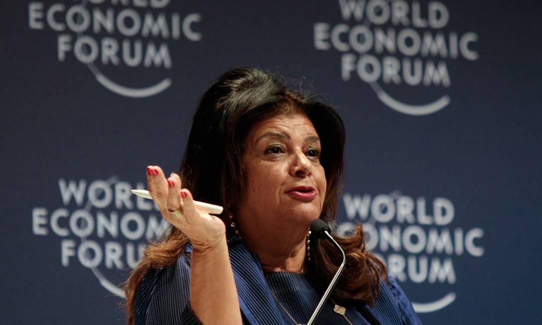 Luiza Trajano, dona do Magazine Luiza Foto: Patricia Monteiro / Bloomberg