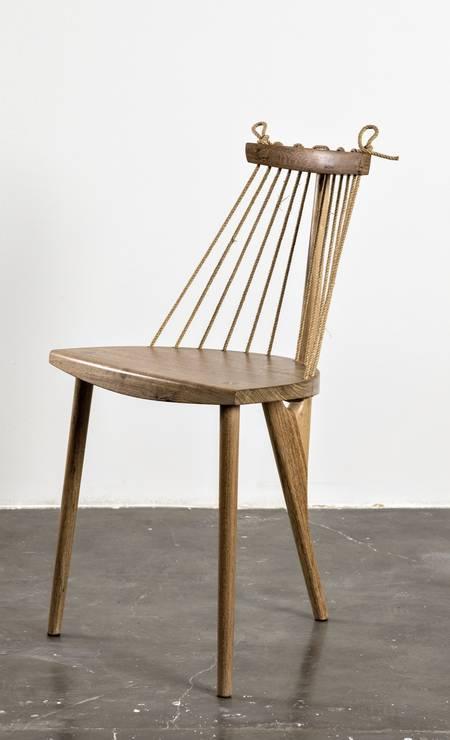 Cadeira de Ricardo Graham Foto: Divulgação