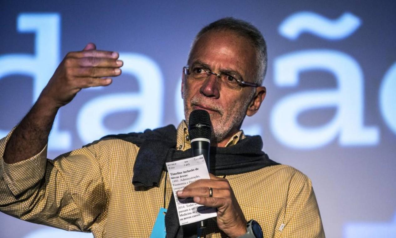 Marcel Herrmann Telles Idade: 70 anos Patrimônio: R$ 64,04 bilhões Estado: Rio de Janeiro Origem da fortuna: Bebidas e investimentos Foto: Dado Galdieri / Bloomberg