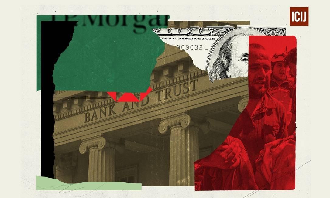 FinCEN Files mostra como bancos e empresas de todo o mundo desafiaram o sistema antilavagem americano para movimentar dinheiro Foto: Ana Tarrone / ICIJ