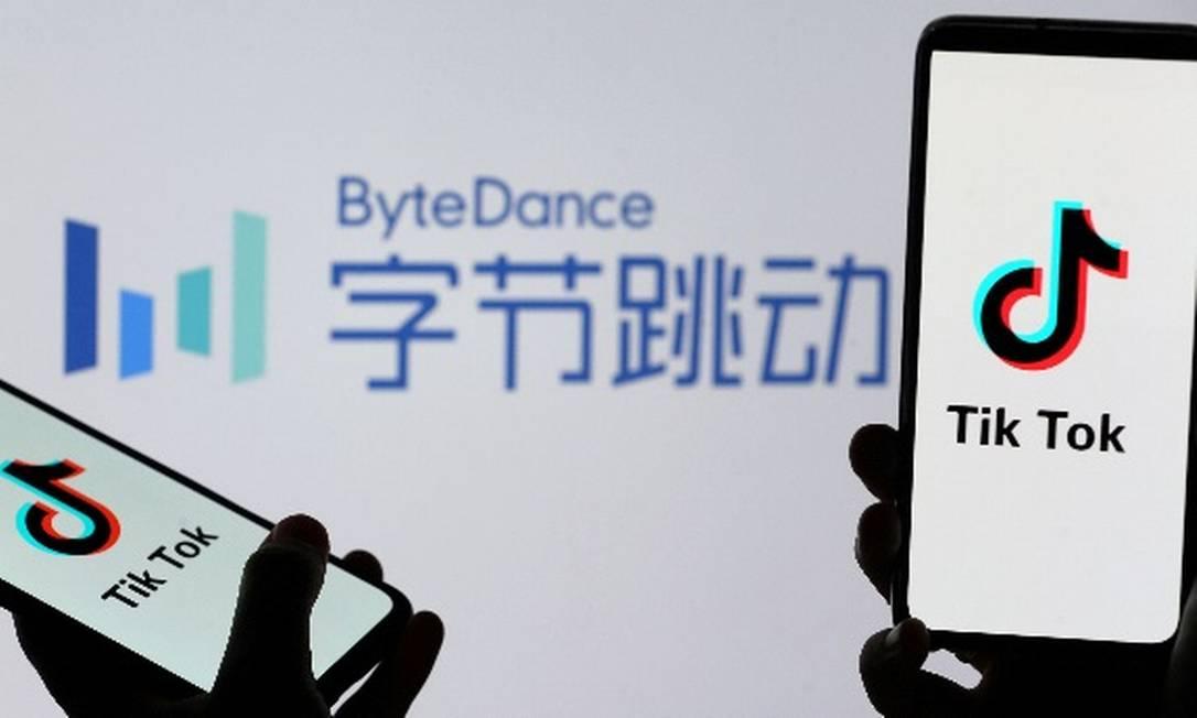 Chinesa ByteDance poderia deter 80% da multinacional TikTok Global, que terá sua base nos Estados Unidos Foto: Reuters