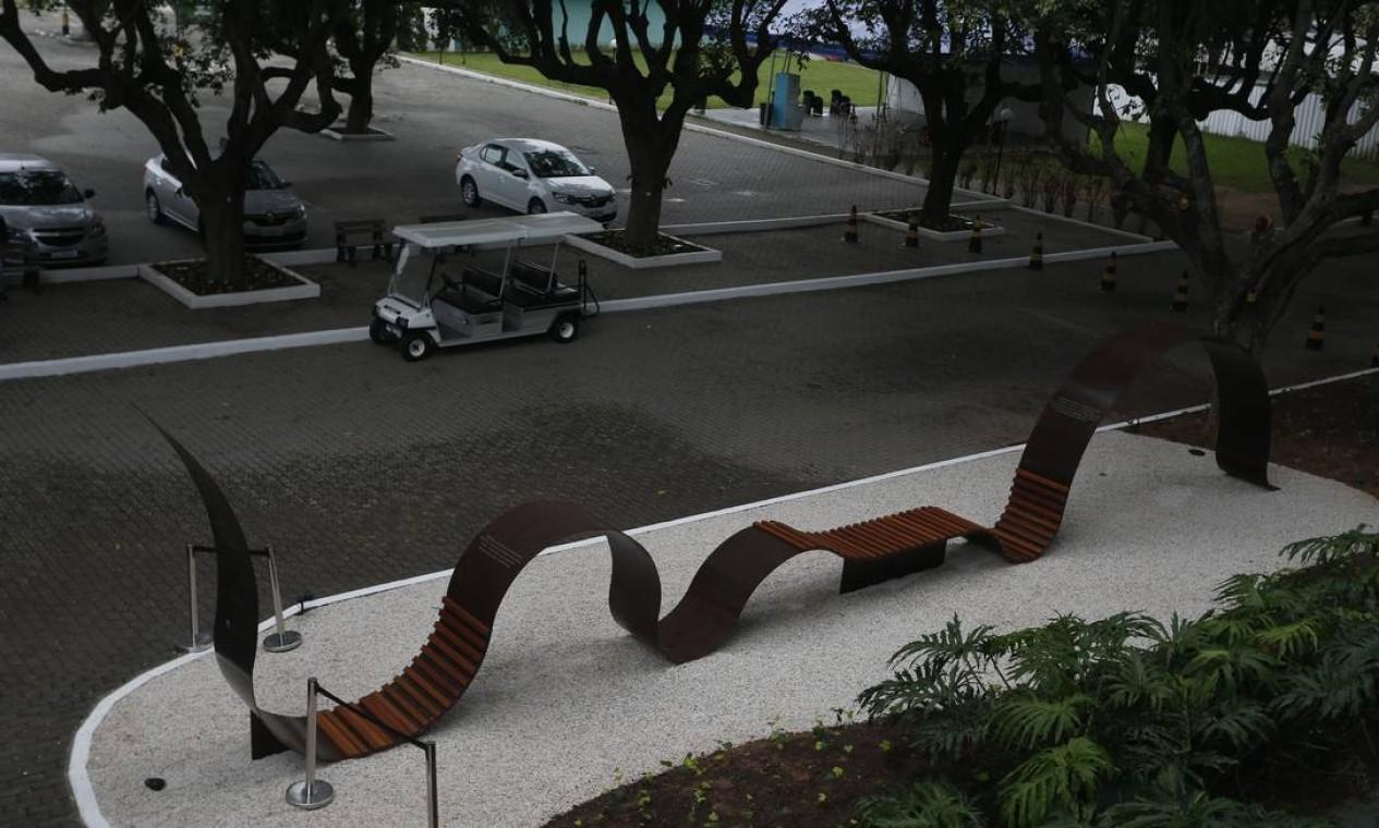 Quatro mil vítimas da doença poderão ter seu nome instalado na obra Foto: Fabiano Rocha / Agência O Globo
