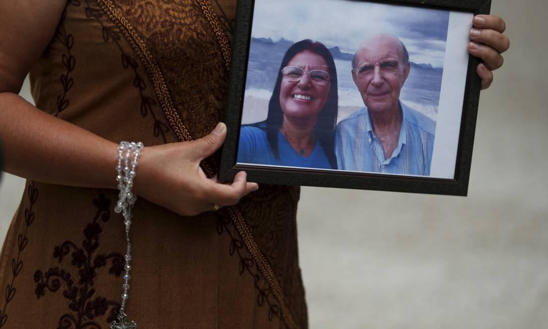 Giselle Diniz lost her father to the disease Photo: FABIANO ROCHA / Agência O Globo