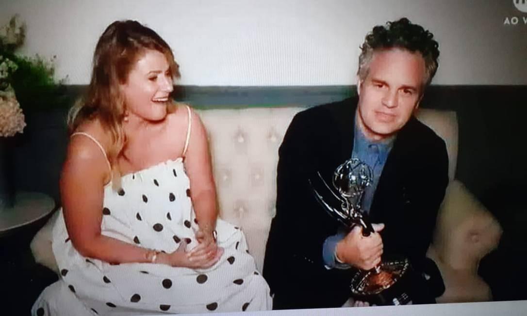 """Mark Ruffalo, melhor ator em minissérie ou filme para a TV por """"I know this much is true"""" Foto: Reprodução"""