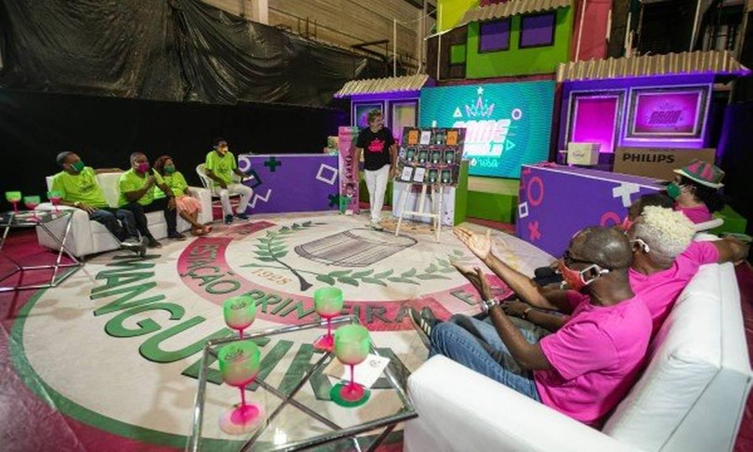 Disputa divertida será exibida no sábado, dia 26, no canal da Mangueira no YouTube Foto: Brenno Carvalho / Agência O Globo