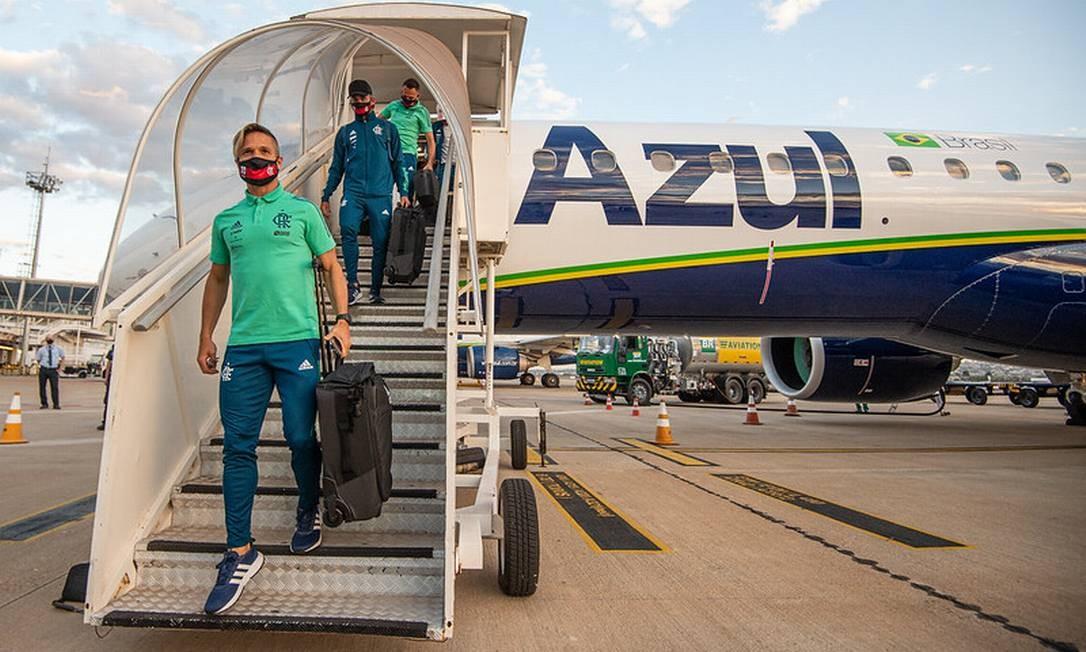 Atletas infectados voltarão em mesmo avião que levou jovens Foto: Divulgação