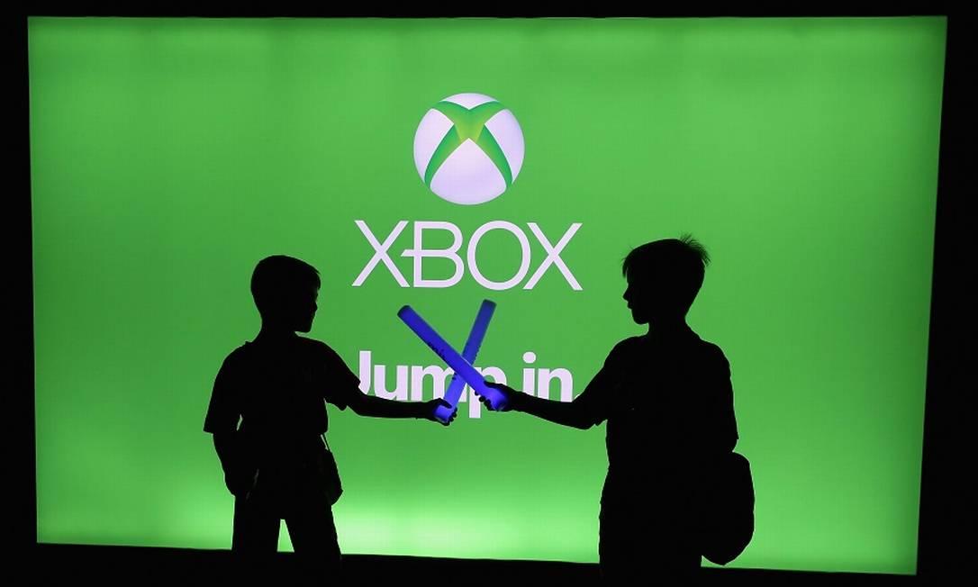 Xbox: console da Microsoft ganhará mais jogos com aquisição. Foto: CHRISTIAN PETERSEN / AFP