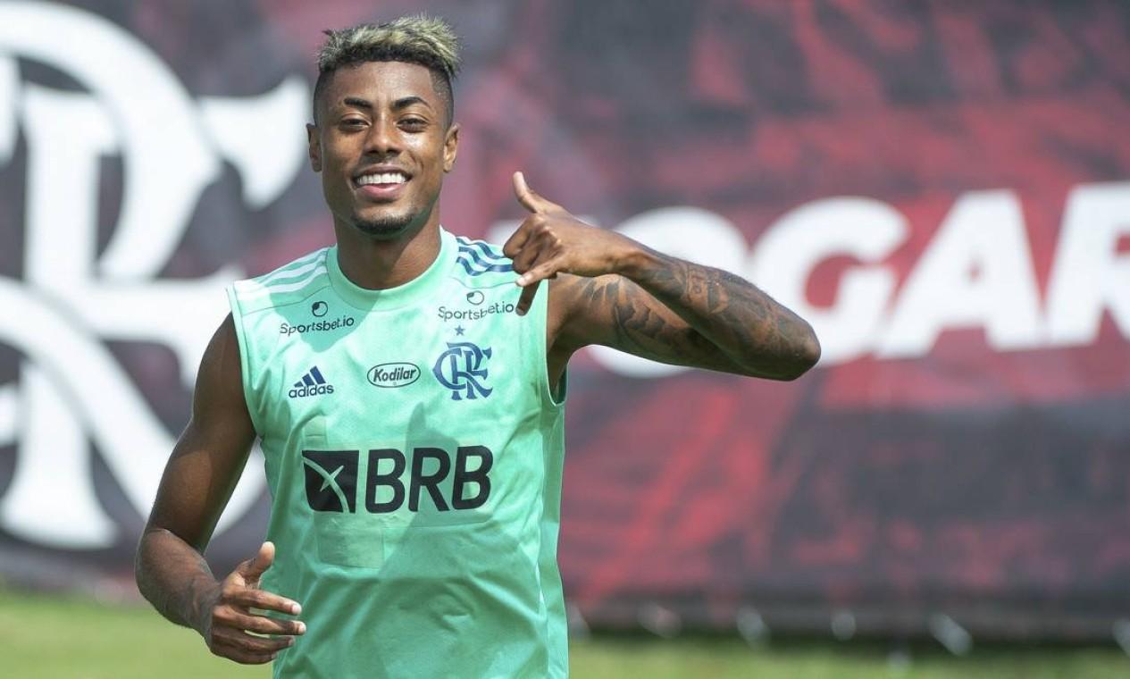 Bruno Henrique, atacante Foto: Alexandre Vidal / Flamengo