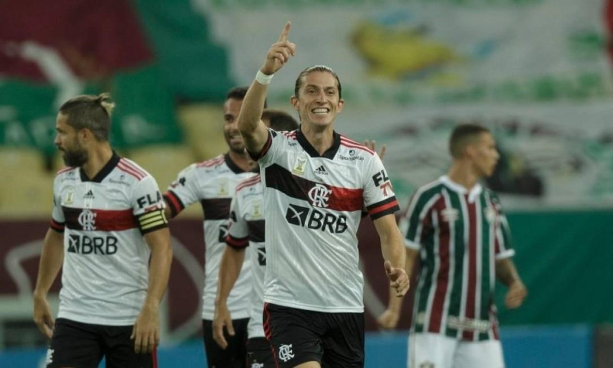 Filipe Luís, lateral-esquerdo Foto: Alexandre Cassiano / Agência O Globo