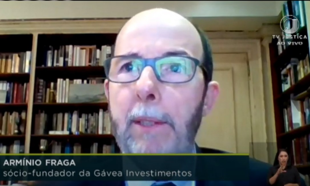 Arminio Fraga, ex-presidente do Banco Central Foto: Reprodução / TV Justiça