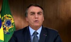 Bolsonaro discursa na Assembleia Geral da ONU Foto: Reprodução