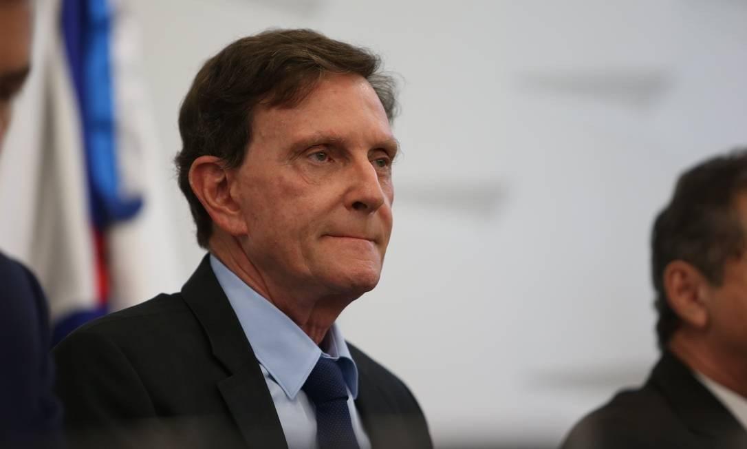 Marcelo Crivella, prefeito do Rio Foto: Pedro Teixeira/Agência O Globo