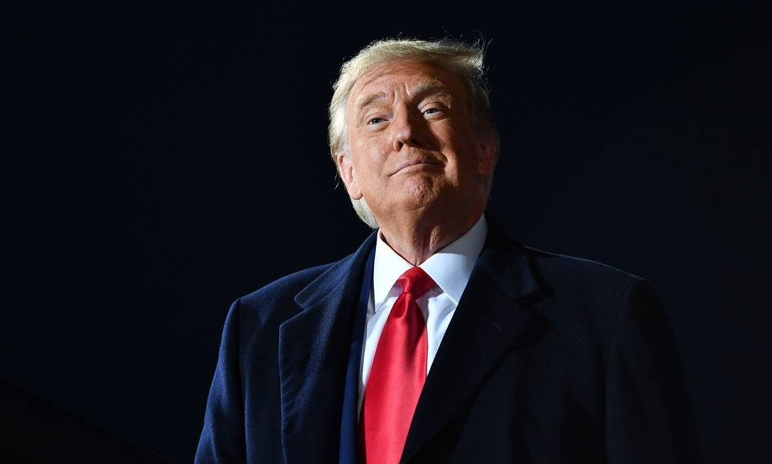 Donald Trump, presidente dos EUA Foto: Mandel Ngan / AFP