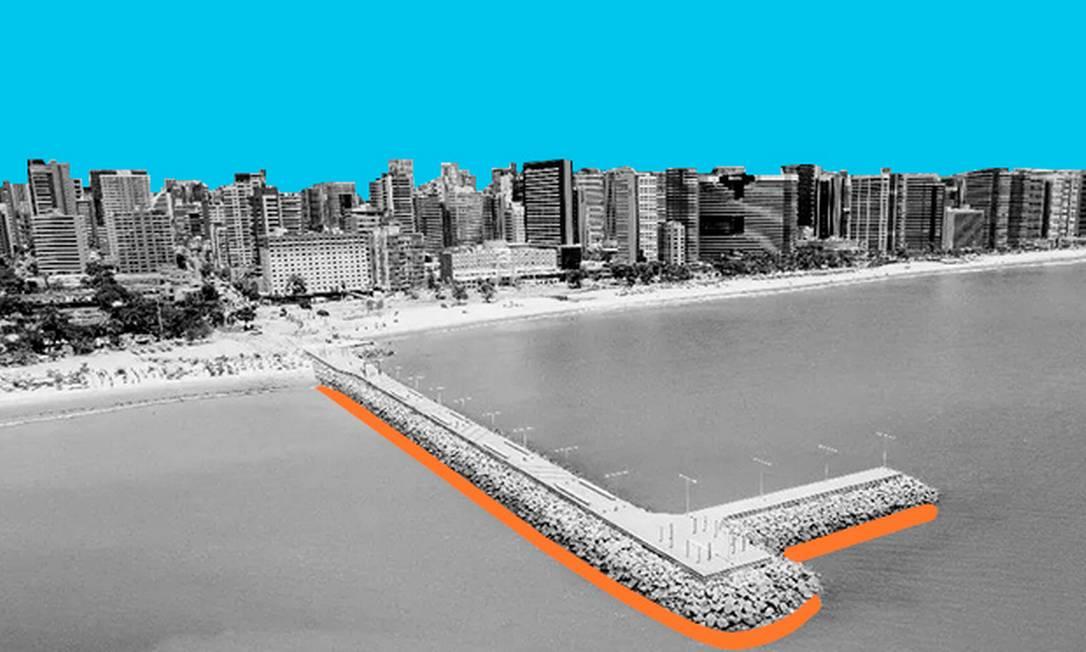 Eleições 2020 em Fortaleza Foto: Arte/O GLOBO