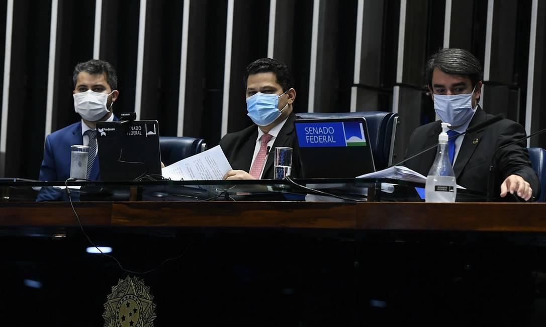 Na primeira sessão presencial desde o início da pandemia, Senado foca na aprovação de embaixadores Foto: Marcos Oliveira / Marcos Oliveira/Agência Senado