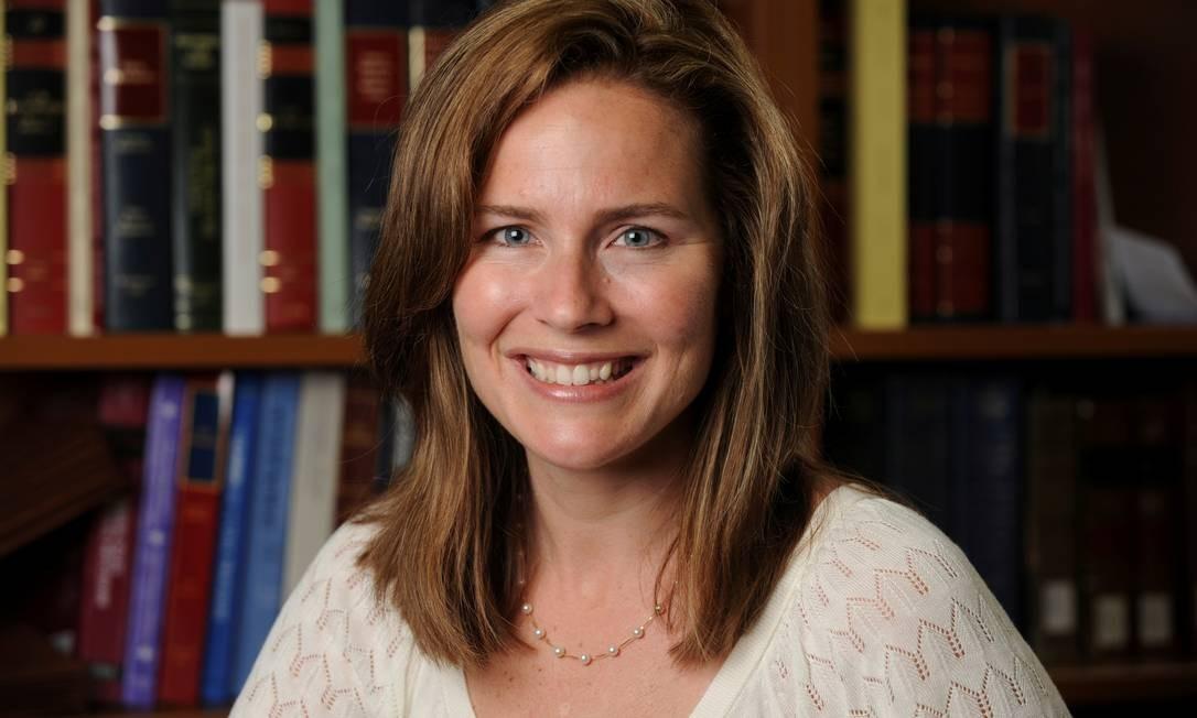 Amy Coney Barrett, juíza Sétimo Tribunal Distrital de Apelações Foto: MATT CASHORE/NOTRE DAME / via REUTERS/19-09-2020