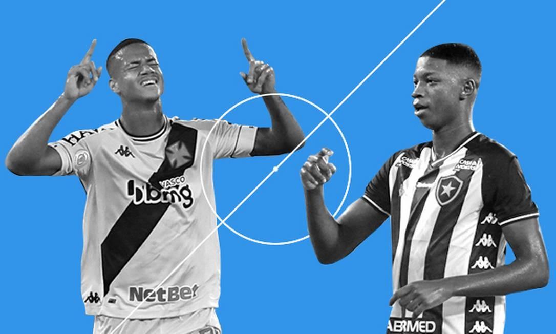 Ygor Catatau e Matheus Babi Foto: Arte O Globo