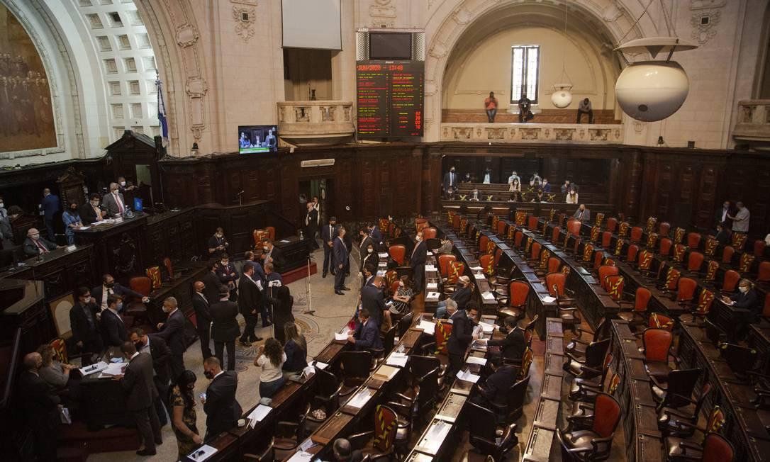Alerj vota nesta quarta-feira o processo de impeachment de Witzel Foto: Gabriel Monteiro em 18-6-2020 / Agência O Globo