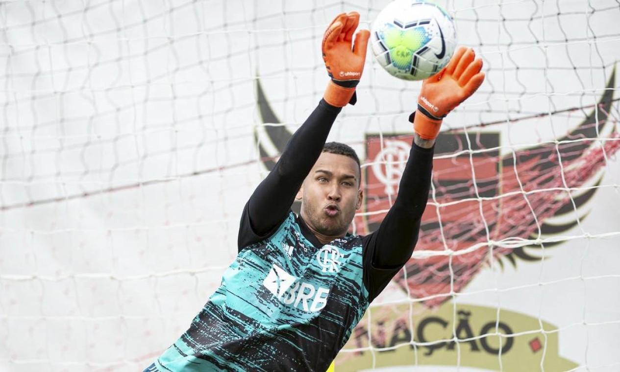 Gabriel Batista, goleiro Foto: Alexandre Vidal / Flamengo
