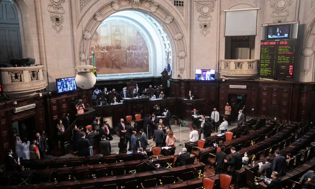 Alerj vota impeachment de Wilson Witzel e pode abrir processo por crime de responsabilidade Foto: BRENNO CARVALHO / Agência O Globo